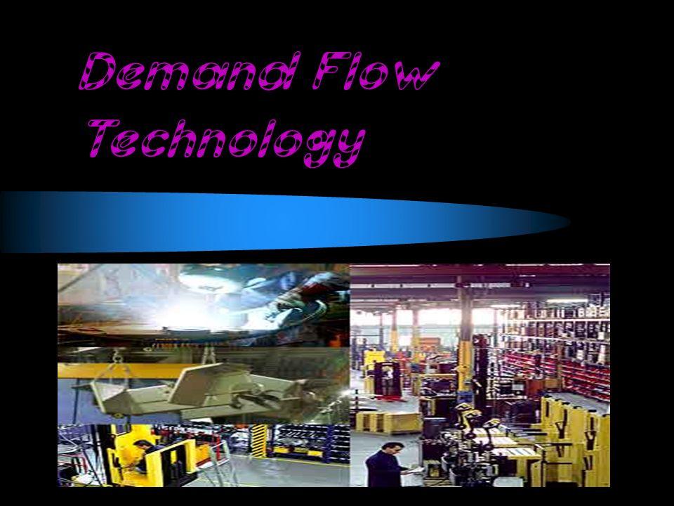 La Tecnología de Flujo de la Demanda es una estrategia de negocio comprensiva que permite a las compañías fabricar los productos basados en demanda de cliente real en vez de confiar en pronósticos.
