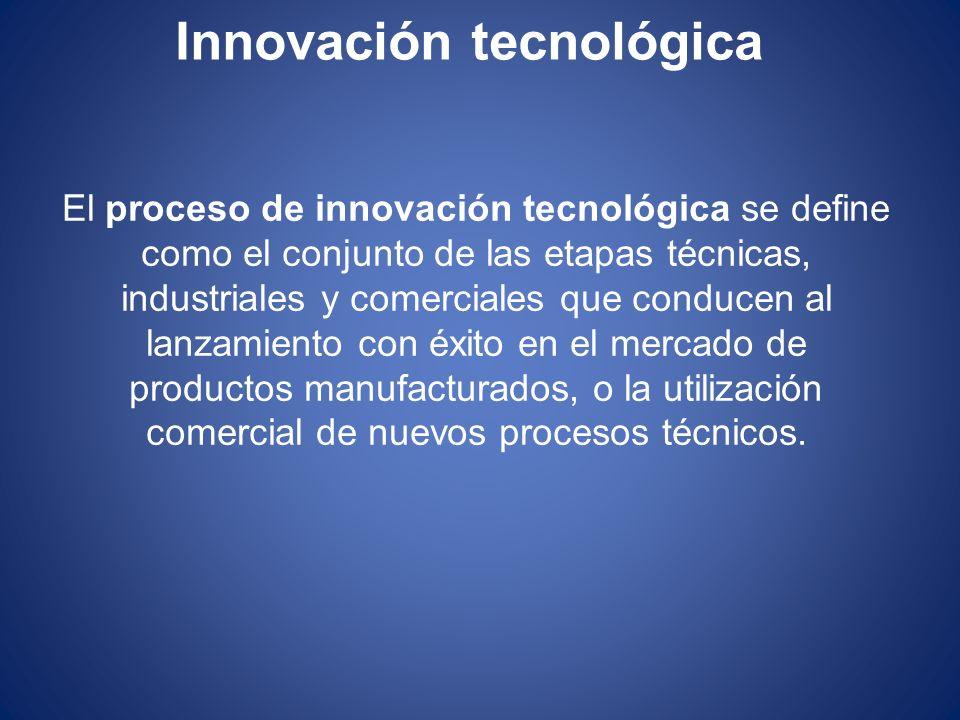 Tipos de Innovación Tecnológica Incrementales: son aquellas que se refieren a mejoras que se realizan dentro de la estructura existente y que no modifican sustancialmente la capacidad competitiva de la empresa a largo plazo.