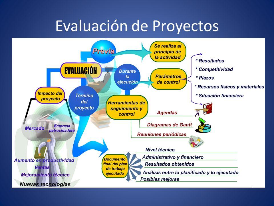Variables que condicionan la selección de un proyecto