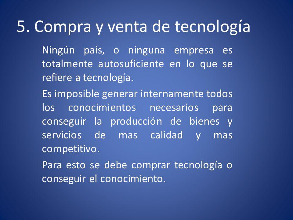 La transferencia de tecnología La transferencia de tecnología es un proceso mediante el cual se identifican, categorizan y caracterizan las necesidades y demandas tecnológicas de los productores de un sector determinado y se formulan soluciones.