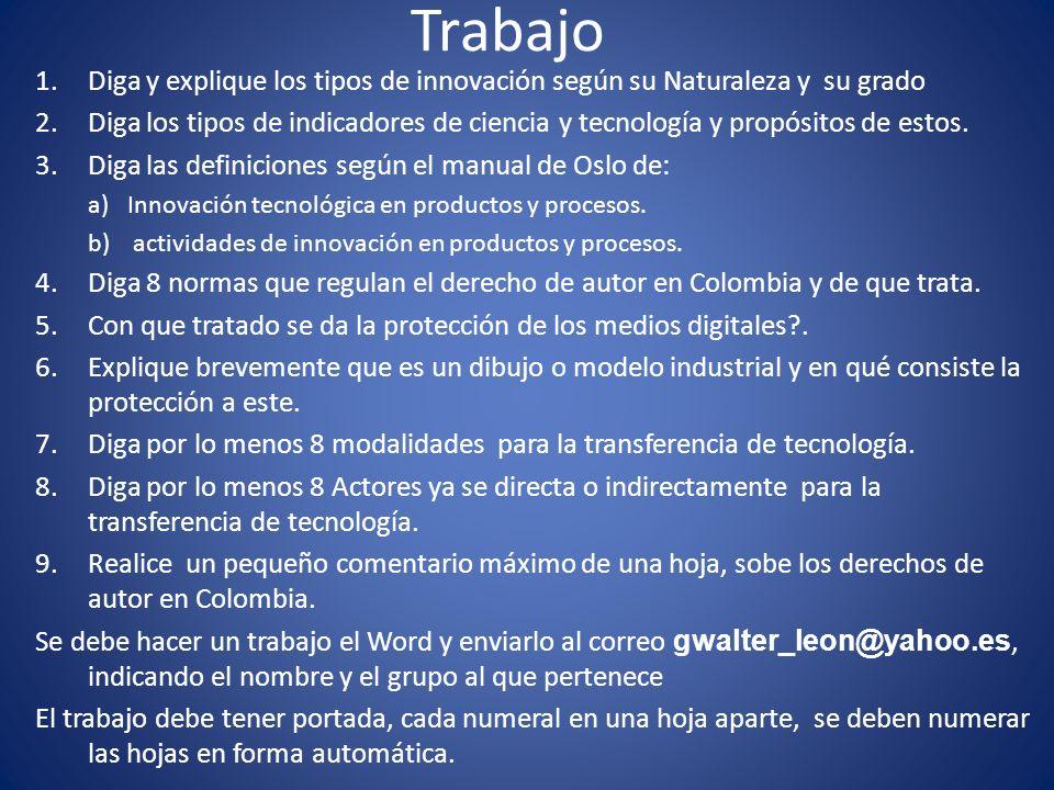En la pagina http://gestioncienciatecnologia.blogspot.com Encuentras esta documentación.