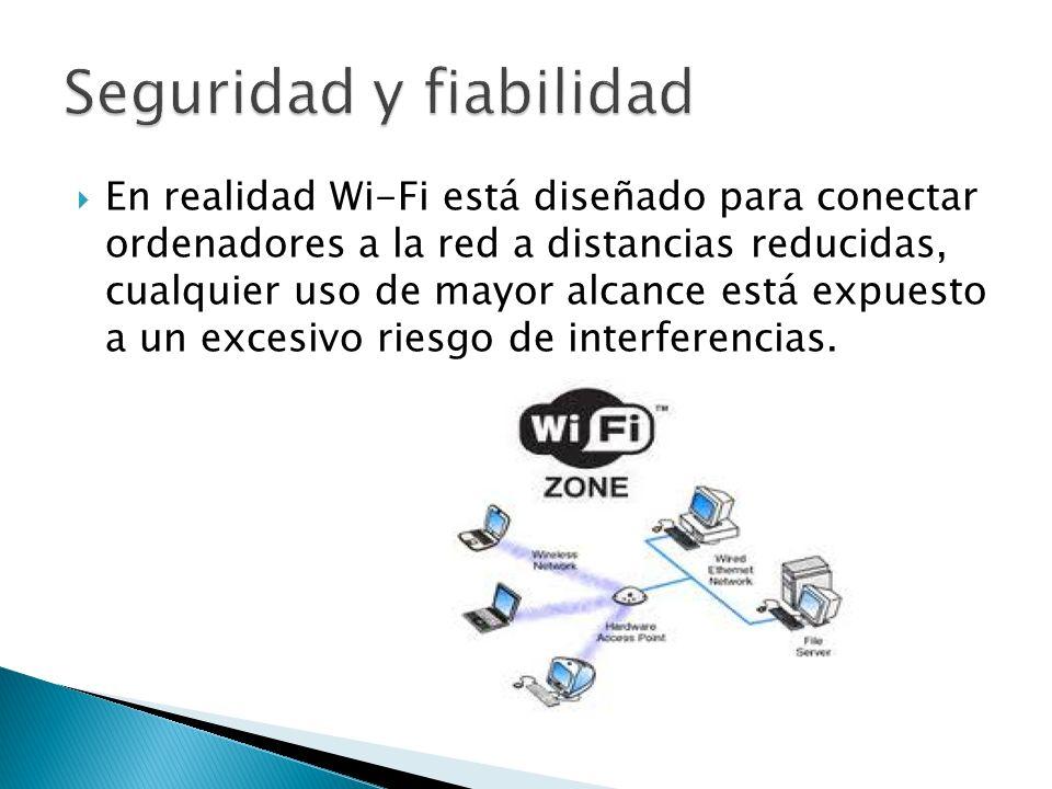Al ser redes inalámbricas, la comodidad que ofrecen es muy superior a las redes cableadas porque cualquiera que tenga acceso a la red puede conectarse desde distintos puntos dentro de un rango suficientemente amplio de espacio.