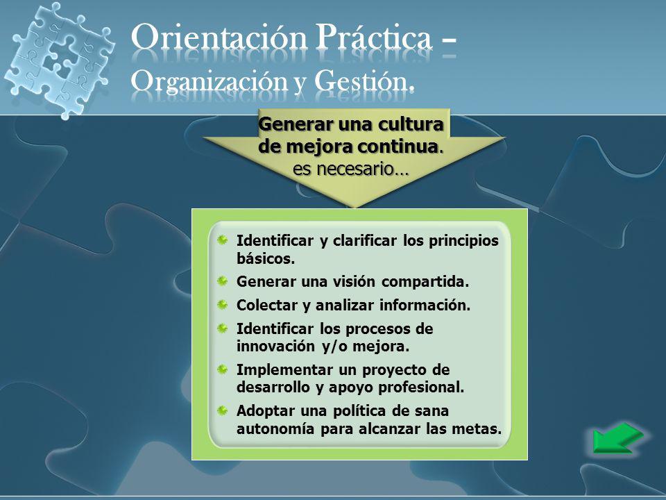 ..Estrategias que facilitan la calidad de aprendizaje.