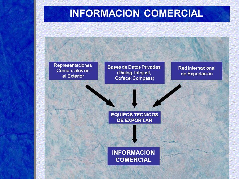 RED INTERNACIONAL PARA EL COMERCIO EXTERIOR Conformación de una la Red Internacional de asistencia para el Comercio Exterior que nutre y aporta los datos necesarios para la provisión de Información Comercial y promoción de exportaciones y asistencia a las empresas seleccionadas especialmente al efecto.
