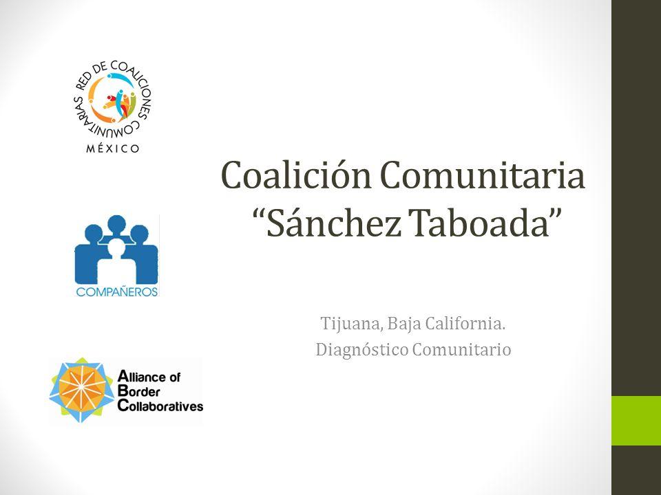 Define su comunidad Reacomodo Sanchez Taboada, una de 88 colonias que conforman el area conocida como Sanchez Taboada, la cual tiene aproximadamente 214,025 habitantes.