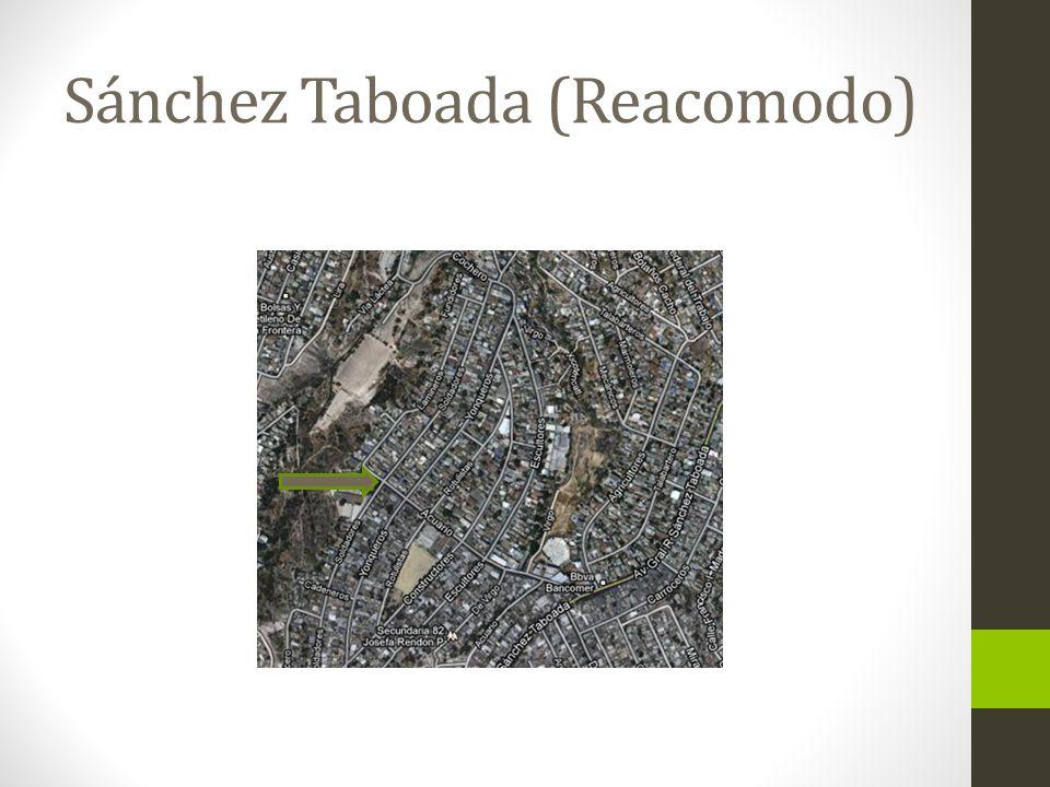 Define su comunida d Descripción de la comunidad: 8,800 habitantes aproximadamente (en Reacomodo), colinda con las colonias Carmen Castillo, El Triunfo, Reforma y Zapata.