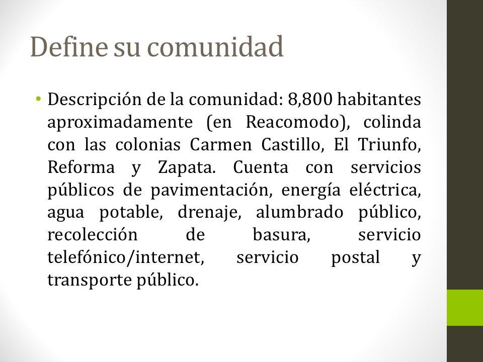Historia de la comunidad Se inició en 1980, con familias provenientes de colonias aledañas al Rio Tijuana (El Chamizal, Los arenales, Gpe.