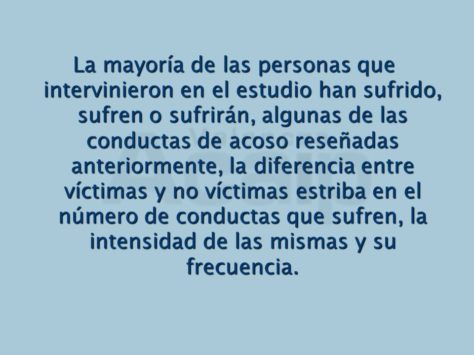 RECOMENDACIONES (Piñuel, 2003) Identifica el problema del mobbing: fórmate e infórmate sobre el problema.