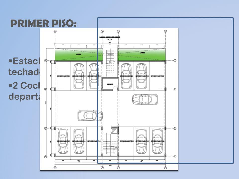 SEGUNDO PISO : FLAT 3 Dormitorios.Sala – Comedor.