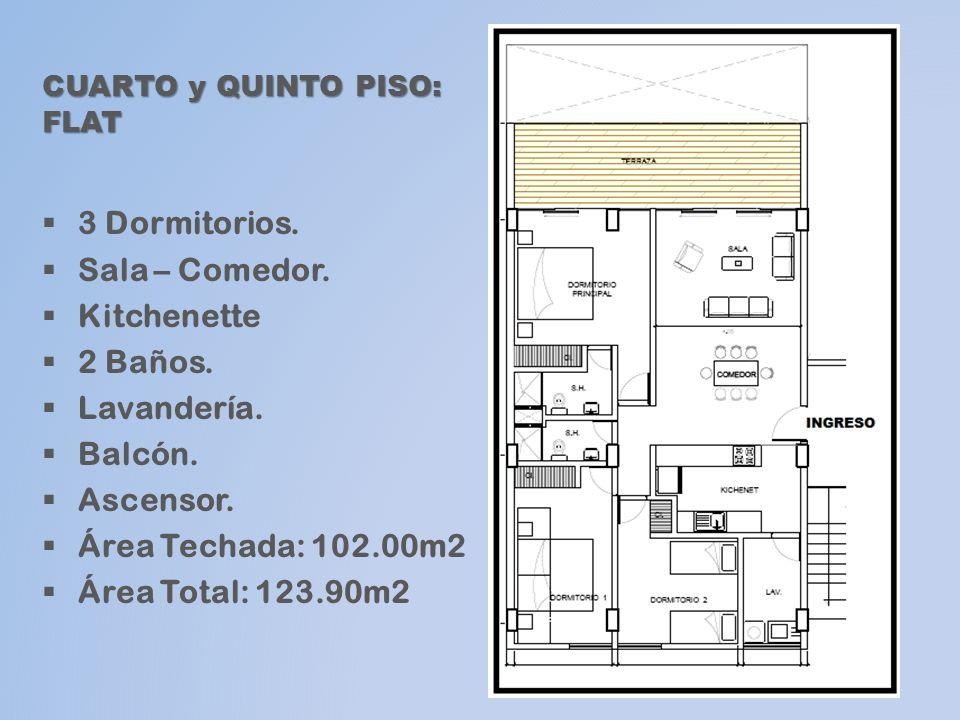 SEXTO PISO Pent-house SEXTO PISO : Pent-house Nivel 1 3 Dormitorios.