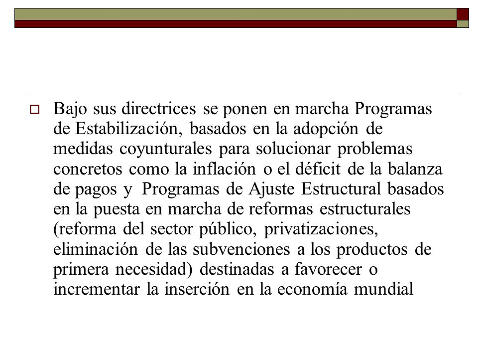 El desenganche del Estado y los esfuerzos de austeridad se han traducido en un deterioro de los indicadores sociales.