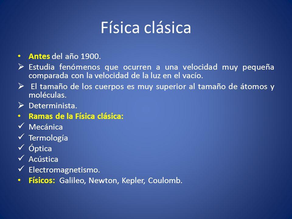 Física clásica