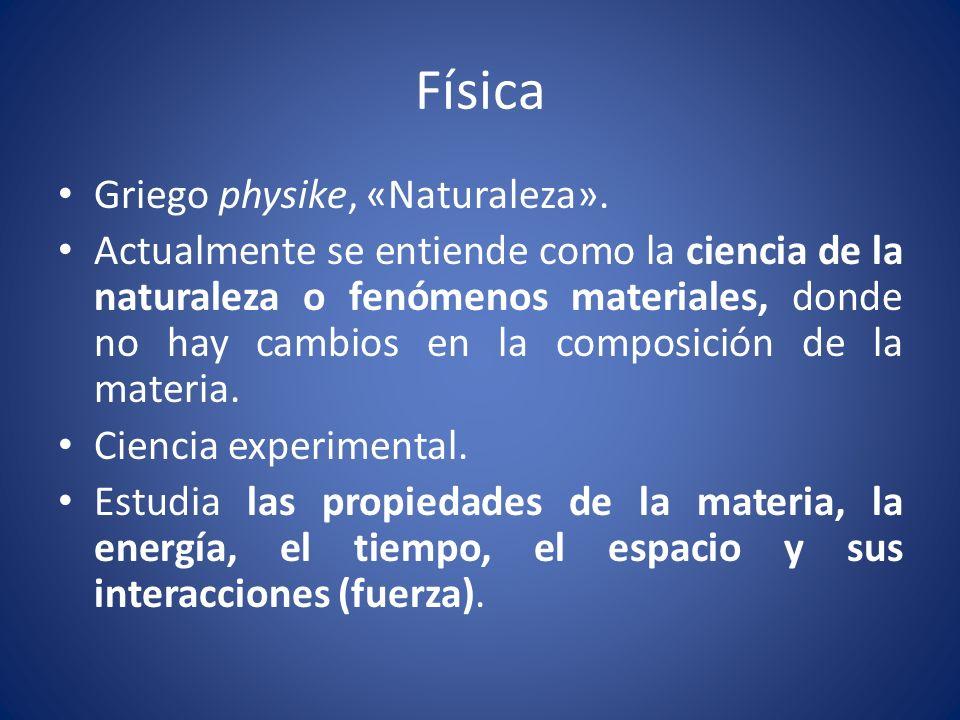 Sistema físico Se caracterizan por: Tener una ubicación en el espacio-tiempo.