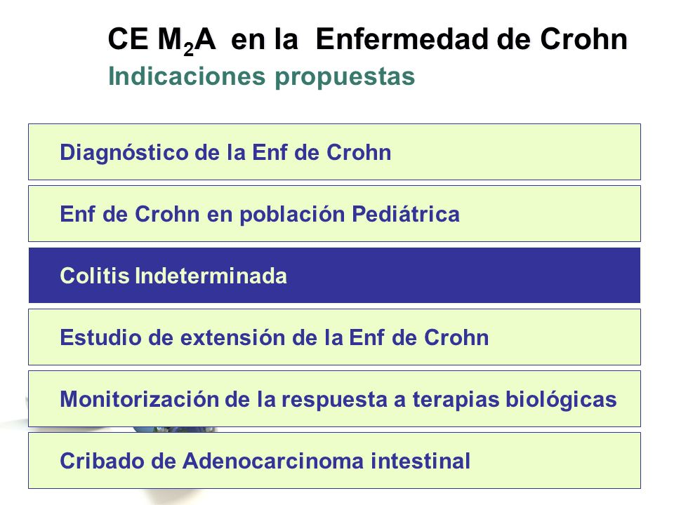El diagnóstico de CI es esencialmente temporal, por lo que hay que hacer los máximos esfuerzos por llegar a un diagnóstico definitivo de EC o CU.