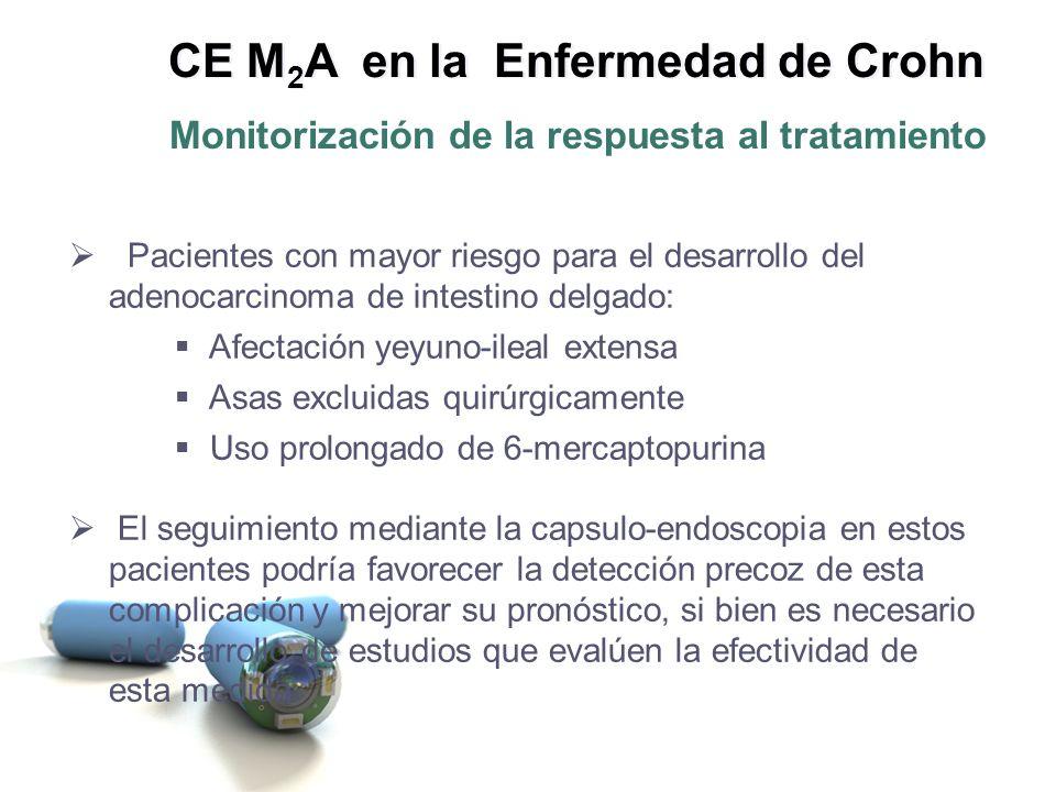 Retención de la Cápsula por una estenosis intestinal no conocida CE M 2 A en la Enfermedad de Crohn Una cuestión por resolver...