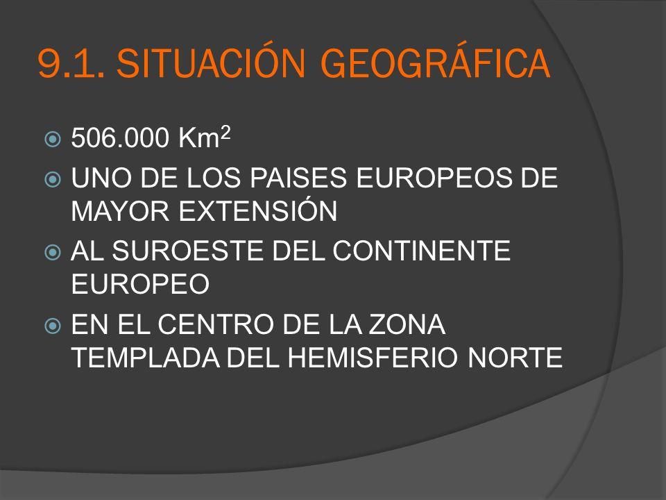 9.2.COMPOSICIÓN GEOGRÁFICA 3 UNIDADES GEOGRAFICAS: LA INSULAR ARCHIPIÉLAGO DE LAS I.