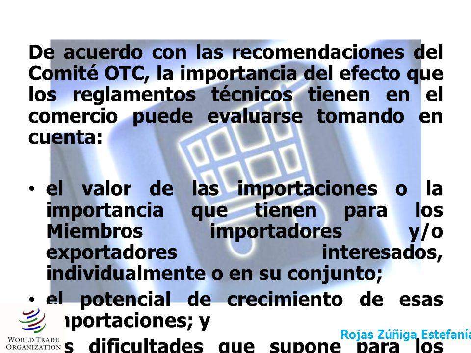 Antes de adoptar un reglamento técnico o un procedimiento de evaluación de la conformidad, los Miembros de la OMC deben: prever un plazo prudencial para que los demás Miembros de la OMC puedan formular observaciones por escrito; mantener conversaciones sobre esas observaciones si así se les solicita; y tomar en cuenta las observaciones escritas y los resultados de dichas conversaciones.