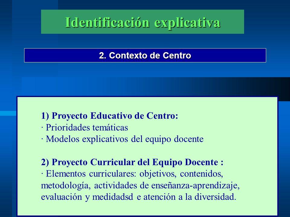 Identificación explicativa 3.