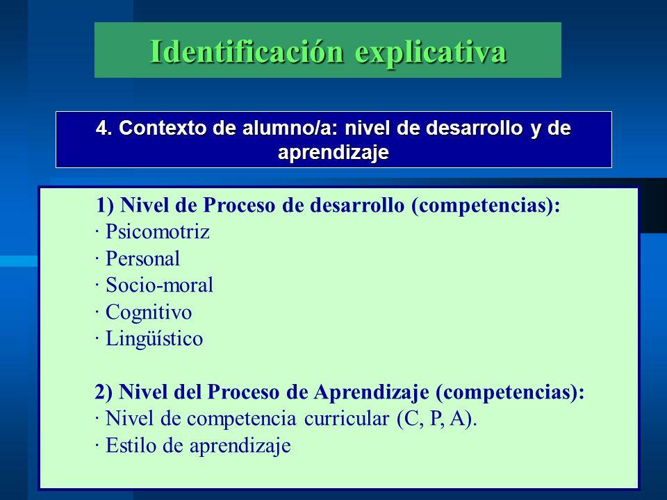 2. LA EVALUACIÓN DEL PROBLEMA (De la Fuente, J., 2003)