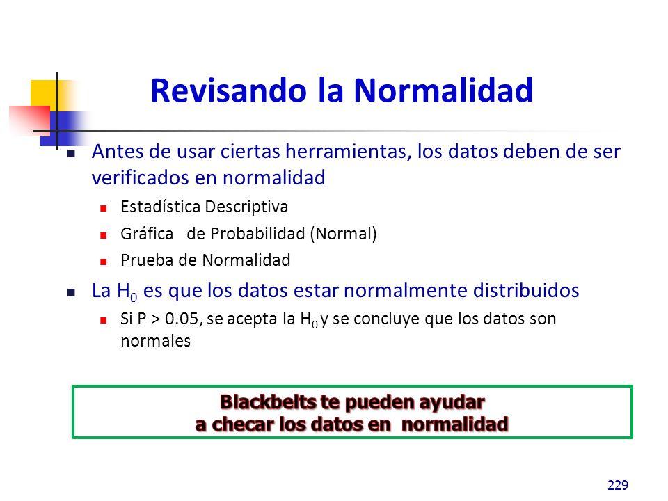 Revisando la Normalidad 230