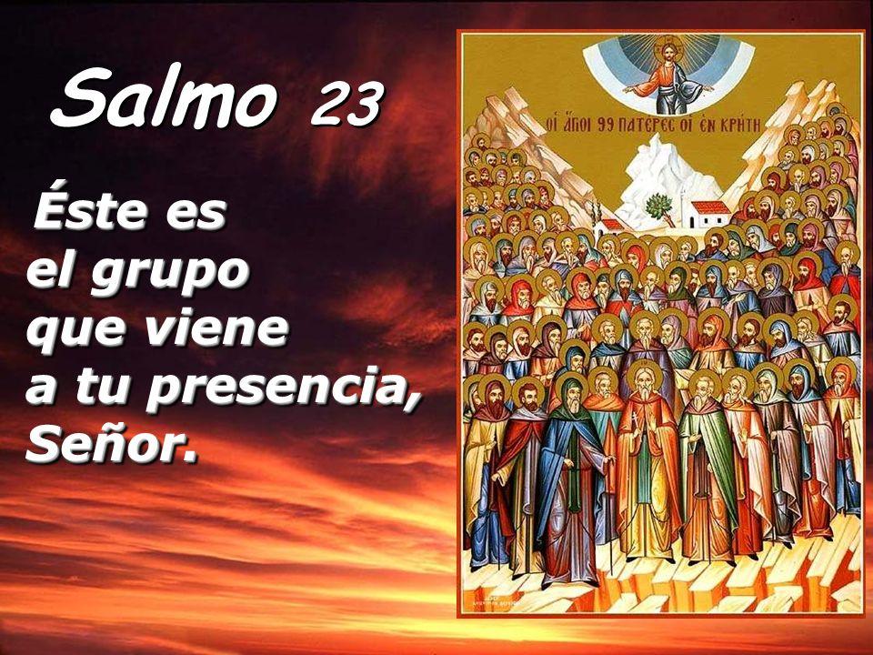 Del Señor es la tierra y cuanto la llena, el orbe y todos sus habitantes: él la fundó sobre los mares, él la afianzó sobre los ríos.