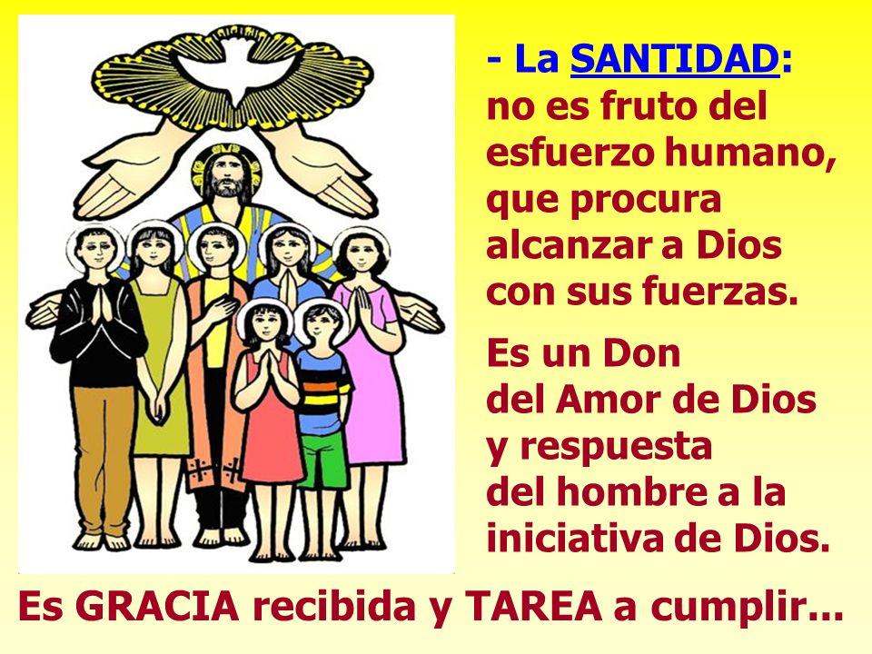 1º) El Mundo de la Santidad: - Mundo inmenso, donde los santos son innumerables.