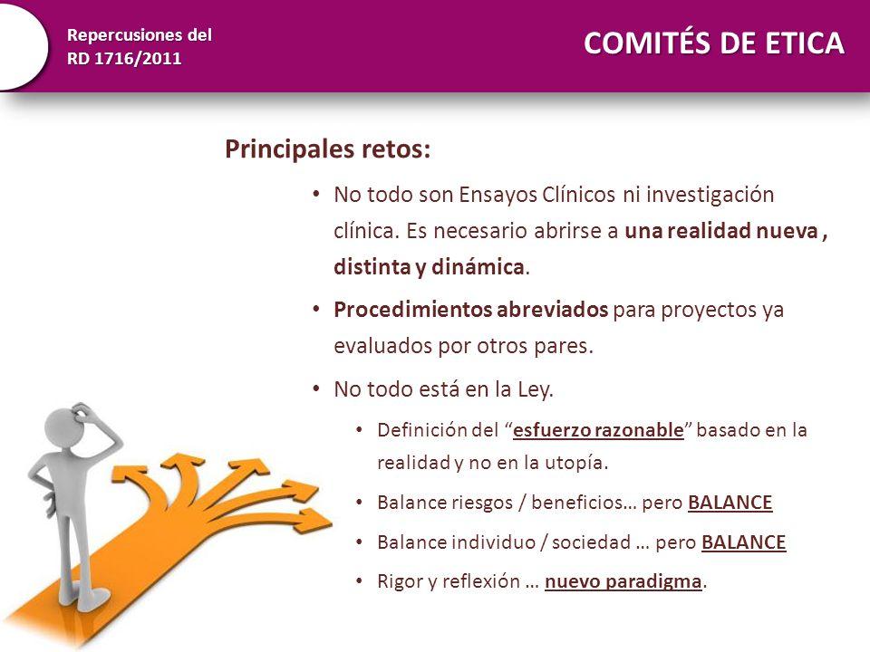 Repercusiones del RD 1716/2011 Manuel M Morente mmorente@cnio.eswww.redbiobancos.es