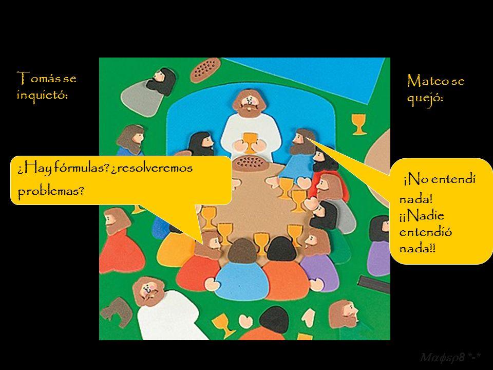 Uno de los fariseos ahí presentes, que nunca había estado frente a una multitud, ni enseñado nada, tomó la palabra y se dirigió a Él, diciendo: 8 *-*