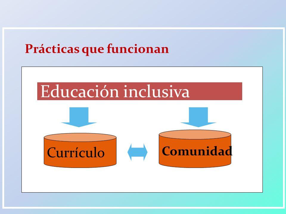 ¿Cómo se construye una comunidad educativa inclusiva.
