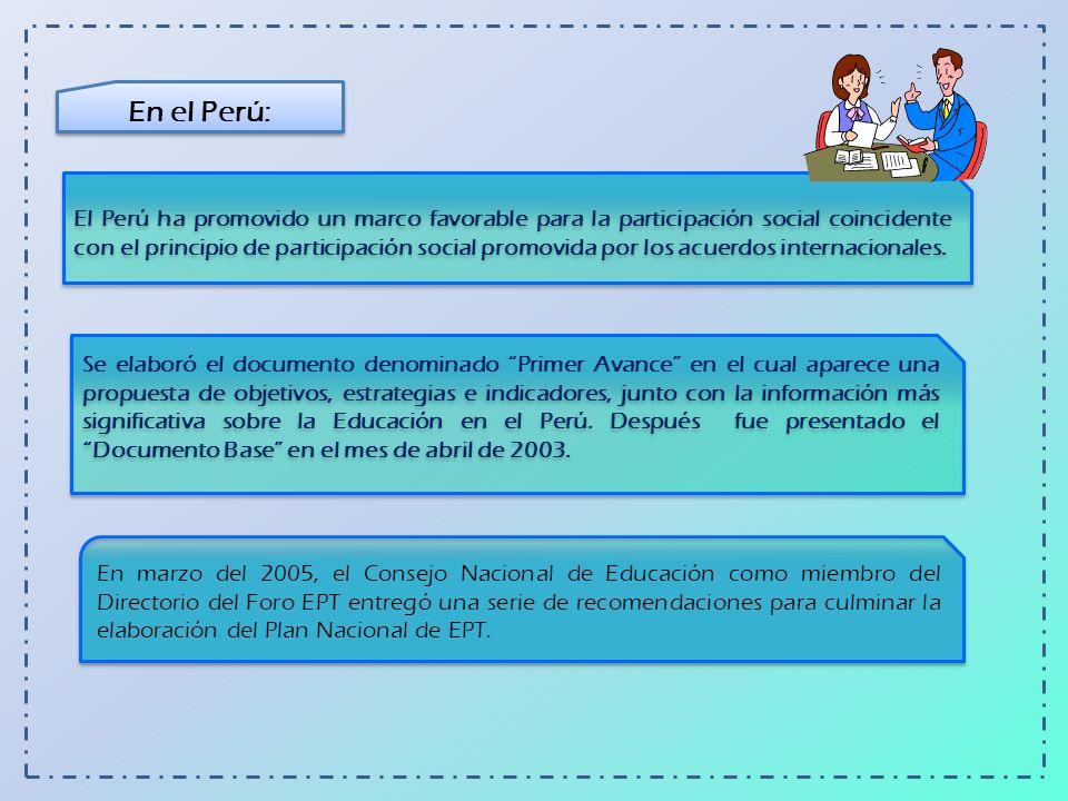 En el Perú: ¿Qué nos dice la Directiva Nº 001-2006-VMGP/DINEI/UEE.