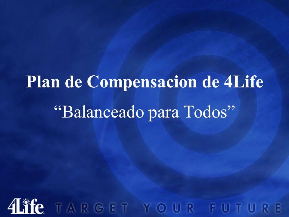 Plan de Compensacion de 4Life Balanceado para Todos