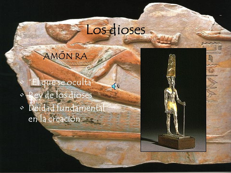 Los dioses ANUBIS Nombre griego de Anpu Representado por un chacal Deidad relacionada con la muerte y la embalsamación