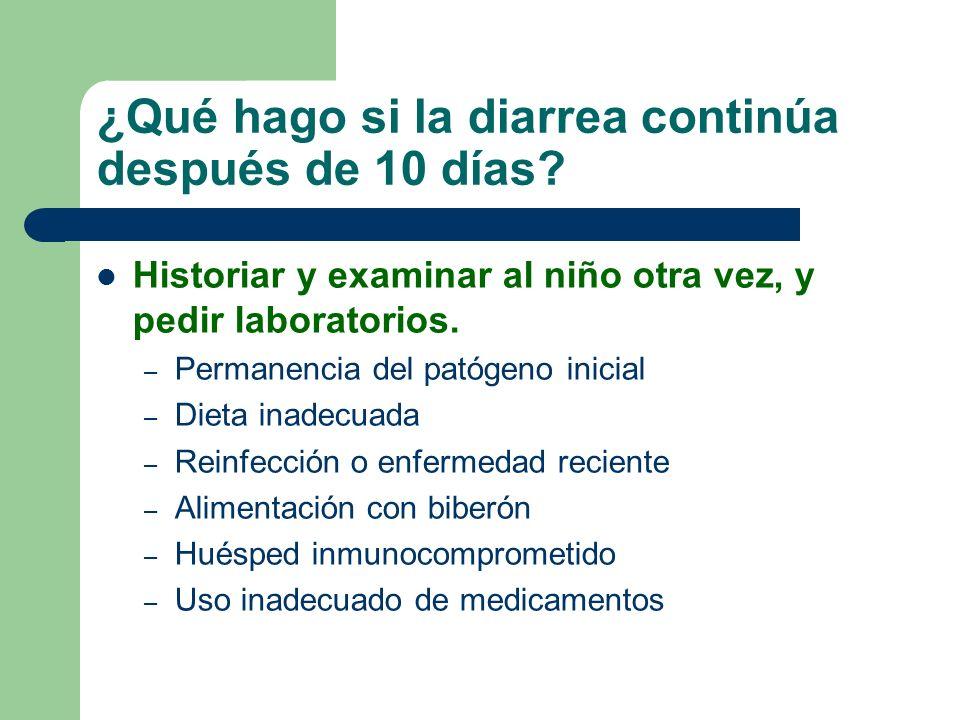 ¿Y los antidiarreicos y otros medicamentos para la EDA.