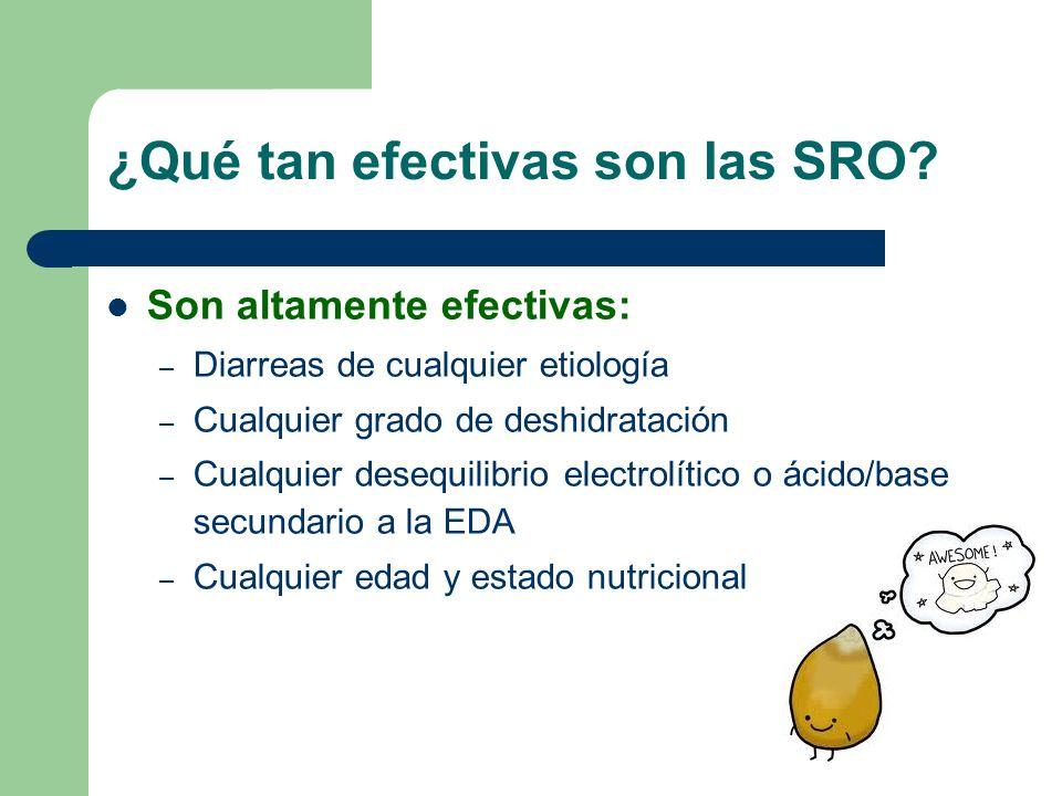 Terapia de rehidratación oral Ventajas: – Barata y efectiva – Fisiológica – Indolora – Segura – Capacitación a familiares – Sencilla