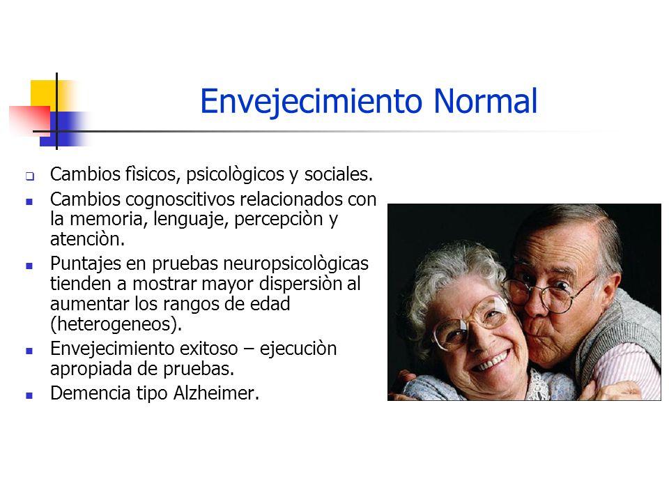 Demencia Definiciòn Es un deterioro cognitivo adquirido y progresivo observado en múltiples áreas.