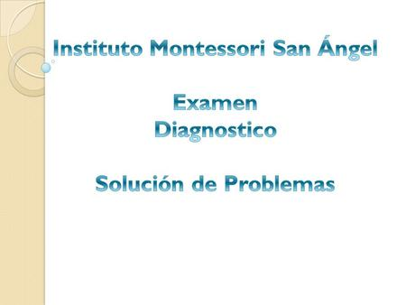 Instituto Montessori San Ángel
