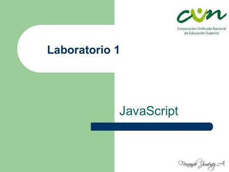Laboratorio 1 JavaScript.