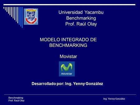 MODELO INTEGRADO DE BENCHMARKING