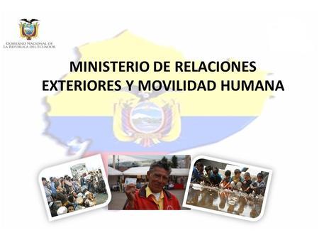 Coordinacion zonal 3 chimborazo cotopaxi tungurahua for Ministerio de relaciones interiores espana