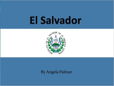 El Salvador By Angela Palmer.
