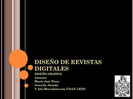 DISEÑO DE REVISTAS DIGITALES