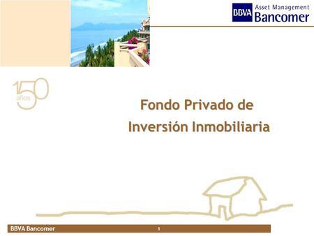 fondo inversion inmobiliaria:
