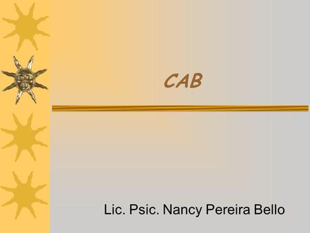 Lic. Psic. Nancy Pereira Bello