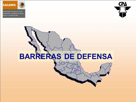 BARRERAS DE DEFENSA.