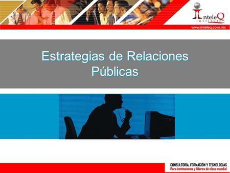 Funciones de relaciones publicas