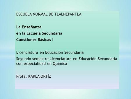 ESCUELA NORMAL DE TLALNEPANTLA