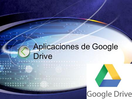 LOGO Edit your company slogan Aplicaciones de Google Drive.