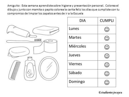 Manual de Higiene Personal - actividades de higiene personal para ...