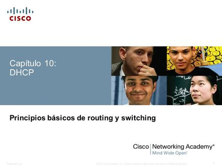 Principios básicos de routing y switching