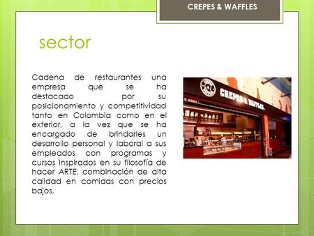 sector CREPES & WAFFLES